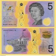 Australia 5 Dollars P-62 2016 UNC - Australia