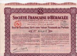 Société Française D' Héraclée - 1937 - Textile