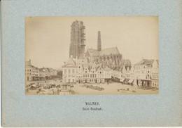 MALINES, Belgique - Saint Rombaut - Photo Ancienne Contrecollée Sur Carton Fort - Photos