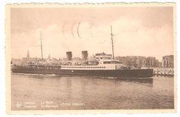 Oostende / Ostende - De Mailboot / La Malle Prince Léopold - 1950 - Oostende