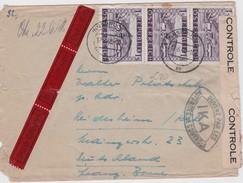 AUTRICHE 1948 LETTRE CENSUREE DE INNSBRUCK EN EXPRES - 1945-60 Briefe U. Dokumente