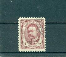 Luxemburg. Großherzog Wilhelm, Nr. 83 Gestempelt - 1906 Wilhelm IV.