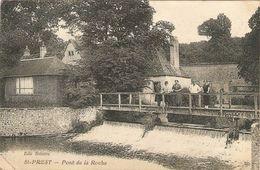 SAINT-PREST   ---  Pont De La Roche ( Pli ) - France