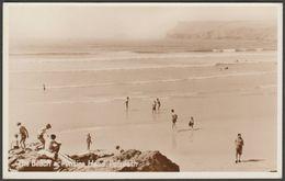 The Beach & Pentire Head, Polzeath, Cornwall, C.1950 - Photo Precision RP Postcard - England