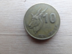 Zambie  10 Ngwee  2012  Km 206 - Zambie
