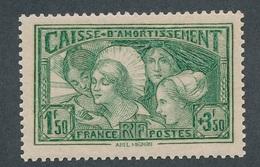 "BO-71: FRANCE: Lot ""CAISSE D'AMORTISSEMENT"" Avec N°269** Signé !! - Unused Stamps"