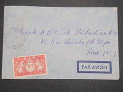 GUYANNE FRANçAISE - Env Par Avion De Cayenne Pour Paris - 1948 - P22054 - Guyane Française (1886-1949)