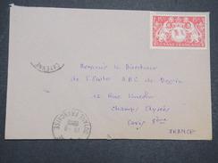 GUYANNE FRANçAISE - Env Par Avion De Cayenne Pour Paris - 1948 - P22056 - Guyane Française (1886-1949)