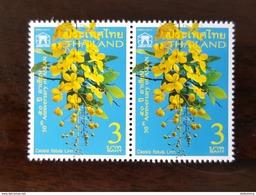 Thailand Stamp 2017 50th Anniversary Of ASEAN - Golden Shower , National Flower - Thailand
