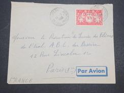 GUYANNE FRANçAISE - Env Par Avion De Cayenne Pour Paris - 1948 - P22057 - Guyane Française (1886-1949)