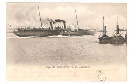 Oostende / Ostende - Uitgaande Mailboot Der S.M. Zeeland - Ship / Bâteau / Schiff / Boot - 1904 - Enkele Rug - Oostende