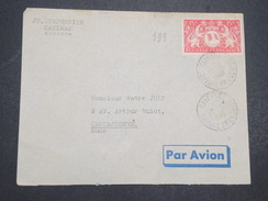GUYANNE FRANçAISE - Env Par Avion De Cayenne Pour Paris - 1948 - P22058 - Guyane Française (1886-1949)
