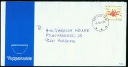 BR Grönland | 1993 Brief Von Narsaq Nach Dänemark, Aalborg ( Tupperware ) - Grönland