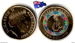 Australie  - 2 Dollars 2017 (Possum Magic # 3 - UNC & Colored By Mint) - Decimal Coinage (1966-...)