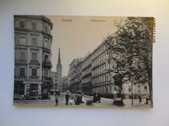 LEIPZIG ALBERTSTRASSE   , OLD POSTCARD   , O - Leipzig