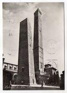 Italie--BOLOGNE--1954--Les Deux Tours (petite Animation)--timbre --cachet - Bologna