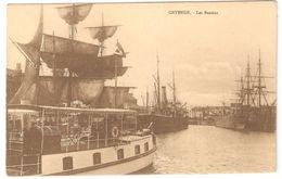 Oostende / Ostende - Les Bassins - Ship / Bâteau / Schiff / Boot - 1903 - Zeilboot / Voilier - Oostende