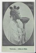 Mali Tombouctou Coiffure De Fillette + Timbre AOF Haut Sénégal Niger Oblitération Tombouctou 1907 - Mali
