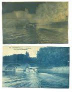 """94 Alfort CPA Avec Son Négatif Original """" La Marne Et Le Pont De Charenton """" Archives éditeur Delboy - LJCPN 2 - Maisons Alfort"""