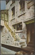 The Shell House, Polperro, Cornwall, 1961 - Salmon Postcard - England