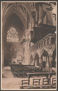The North Transept, Exeter Cathedral, Devon, C.1920s - Shapland Postcard - Exeter