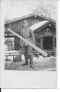 Prusse Allemagne Soldats Allemand 2ème Pionier Devant Un Baraquement Villa Generalstab 1 Carte Photo Ww1 14-18 - War, Military