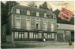 27 QUILLEBEUF-sur-SEINE ++ Hôtel D'Angleterre ++ - Autres Communes