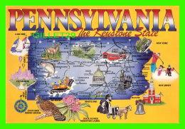 MAPS - PENNSYLVANIA, THE KEYSTONE STATE - - Maps