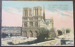 Paris N°4000 - Notre-Dame - Carte Couleur Circulée En 1916 - France