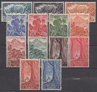 AFRIQUE  EQUATORIALE  FRANCAISE  N°208/220__NEUF*  VOIR  SCAN - A.E.F. (1936-1958)