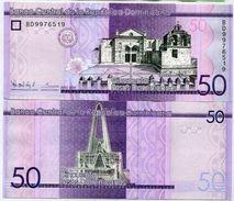 10 Pieces Dominicana - 50 Peso 2015 UNC - Dominicana