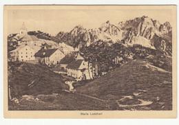 Maria Luschari Monte Lussari Sv. Višarje Old Postcard Travelled 1929 - Ambulant Postmark B171102 - Udine
