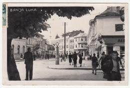 Banja Luka WWII NDH Photopostcard Travelled 1942 To Zagreb B171102 - Bosnia Erzegovina