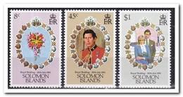 Solomon 1981, Postfris MNH, Royal Wedding, Flowers - Solomoneilanden (1978-...)