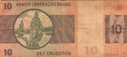 Brésil Billet Dez Cruzeiros - Brazil