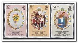 British Virgin Islands 1981, Postfris MNH, Royal Wedding, Flowers - Britse Maagdeneilanden
