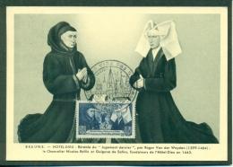 CM-Carte Maximum Card # 1943-France #Architecture # Hôtel-Dieu,  Beaune (N° 583 ) # Edition Bourgogne (LIQUIDATION) - Maximumkaarten