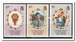 Kaaiman Eilanden 1981, Postfris MNH, Royal Wedding, Flowers - Kaaiman Eilanden
