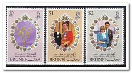 Brunei 1981, Postfris MNH, Royal Wedding, Flowers - Brunei (1984-...)