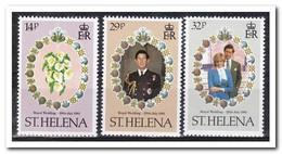 Sint Helena 1981, Postfris MNH, Royal Wedding, Flowers - Sint-Helena