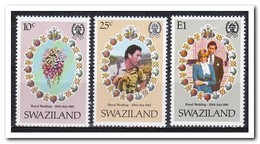 Swaziland 1981, Postfris MNH, Royal Wedding, Flowers - Swaziland (1968-...)