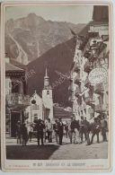 Photo CHARNAUX Frères  & Cie  Vers 1880 - GENÈVE - N°591 CHAMONIX ET LE BREVENT - Anciennes (Av. 1900)