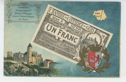 DEPARTEMENT DU GERS - Jolie Carte Avec BON DE 1 FRANC émis Par LA CHAMBRE DE COMMERCE DU GERS - Frankrijk