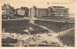 DUINBERGEN : Villas Autour Du Tennis - RARE CPA - Cachet De La Poste 1948 - Bélgica