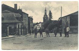 Cpa Thiaucourt  ( Soldats, Voir Tampon Au Verso ) - France