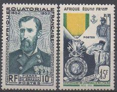 AFRIQUE  EQUATORIALE  FRANCAISE  N°228/229__NEUF* VOIR  SCAN - Nuevos