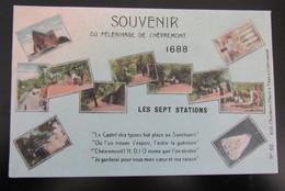 Cpa/pk Souvenir Du Pélérinage De Chèvremont - Belgique