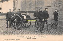 CPA SAPEURS POMPIERS BRANDWEER ANTWERPEN ANVERS VRIJWILLIG POMPIERSKORPS BERCHEM - Sapeurs-Pompiers