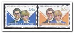 Cocoseilanden 1981, Postfris MNH, Royal Wedding - Cocoseilanden