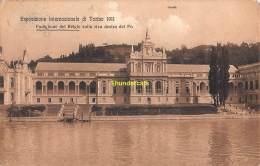 CPA  ESPOSIZIONE INTERNAZIONALE DI TORINO 1911 EXPOSITION PAVILLON DU BELGIQUE BELGIUM BELGIO - Expositions